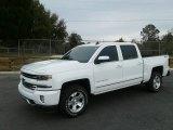 2018 Summit White Chevrolet Silverado 1500 LTZ Crew Cab 4x4 #131125606