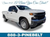 2019 Summit White Chevrolet Silverado 1500 WT Double Cab #131125322