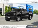 2019 Black Chevrolet Silverado 1500 RST Crew Cab 4WD #131125253