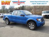2011 Blue Flame Metallic Ford F150 FX4 SuperCab 4x4 #131125381