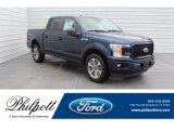2018 Blue Jeans Ford F150 STX SuperCrew #131125496