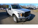 2019 Ingot Silver Ford F150 XL Regular Cab 4x4 #131125653