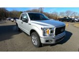 2018 Ingot Silver Ford F150 XL SuperCab 4x4 #131125651