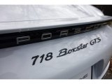 Porsche 718 Boxster Badges and Logos