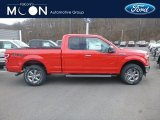 2019 Race Red Ford F150 XLT SuperCab 4x4 #131125478