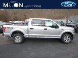 2019 Ingot Silver Ford F150 XLT SuperCrew 4x4 #131125477