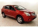 2012 Cayenne Red Nissan Rogue S AWD #131149409