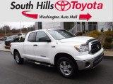2011 Super White Toyota Tundra SR5 Double Cab 4x4 #131149319