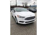 2018 Oxford White Ford Fusion SE #131149466