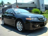 2006 Nighthawk Black Pearl Acura TSX Sedan #13077018