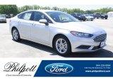 2018 Ingot Silver Ford Fusion SE #131177605