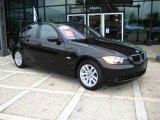 2006 Jet Black BMW 3 Series 325xi Sedan #13080500