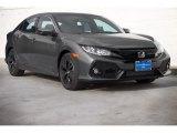 2019 Polished Metal Metallic Honda Civic EX Hatchback #131177600