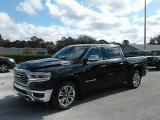 2019 Diamond Black Crystal Pearl Ram 1500 Long Horn Crew Cab 4x4 #131190304