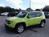2018 Hypergreen Jeep Renegade Latitude #131190297