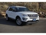 2017 Oxford White Ford Explorer XLT #131190175