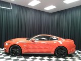 2016 Competition Orange Ford Mustang GT Coupe #131203579