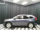 2012 Twilight Blue Metallic Honda CR-V EX-L #131203575