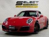 2017 Porsche 911 Guards Red