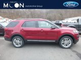 2019 Ruby Red Ford Explorer XLT 4WD #131220685