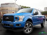 2019 Velocity Blue Ford F150 XLT SuperCrew 4x4 #131220455