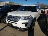 2019 White Platinum Ford Explorer Limited 4WD #131245086