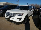 2019 Oxford White Ford Explorer XLT 4WD #131245073