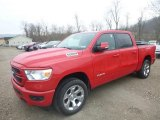 2019 Flame Red Ram 1500 Big Horn Crew Cab 4x4 #131244955