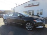2017 Shadow Black Ford Fusion Hybrid SE #131245022