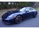 2019 Porsche 911 Night Blue Metallic