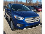 2019 Lightning Blue Ford Escape SEL 4WD #131274835