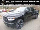 2019 Diamond Black Crystal Pearl Ram 1500 Big Horn Crew Cab 4x4 #131285666