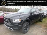 2019 Diamond Black Crystal Pearl Ram 1500 Rebel Crew Cab 4x4 #131285664