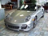 2008 GT Silver Metallic Porsche 911 Turbo Cabriolet #131293