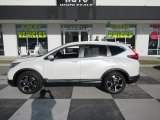 2017 White Diamond Pearl Honda CR-V Touring #131285834
