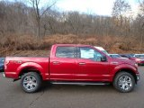 2019 Ruby Red Ford F150 XLT SuperCrew 4x4 #131317138