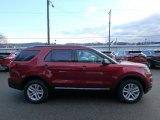 2019 Ruby Red Ford Explorer XLT 4WD #131317137