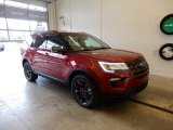 2019 Ruby Red Ford Explorer XLT 4WD #131317179