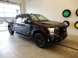 2019 Agate Black Ford F150 XLT SuperCrew 4x4 #131317172