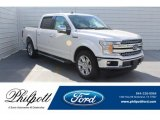 2019 White Platinum Ford F150 Lariat SuperCrew #131317217