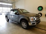 2019 Magnetic Ford F150 XLT SuperCab 4x4 #131317167