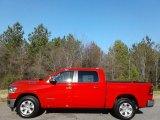 2019 Flame Red Ram 1500 Laramie Crew Cab 4x4 #131317052