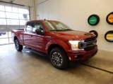 2019 Ruby Red Ford F150 XLT SuperCab 4x4 #131317166