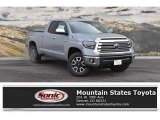2019 Cement Toyota Tundra Limited Double Cab 4x4 #131338107