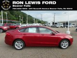 2018 Ruby Red Ford Fusion SE #131338158