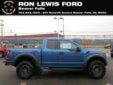 2019 Performance Blue Ford F150 SVT Raptor SuperCab 4x4 #131338284