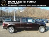 2018 Magma Red Ford F150 XLT SuperCab 4x4 #131338221