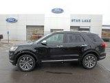 2019 Agate Black Ford Explorer Platinum 4WD #131338534