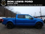 2019 Velocity Blue Ford F150 XLT Sport SuperCrew 4x4 #131338281