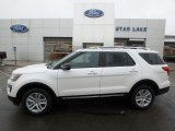 2019 Oxford White Ford Explorer XLT 4WD #131338533